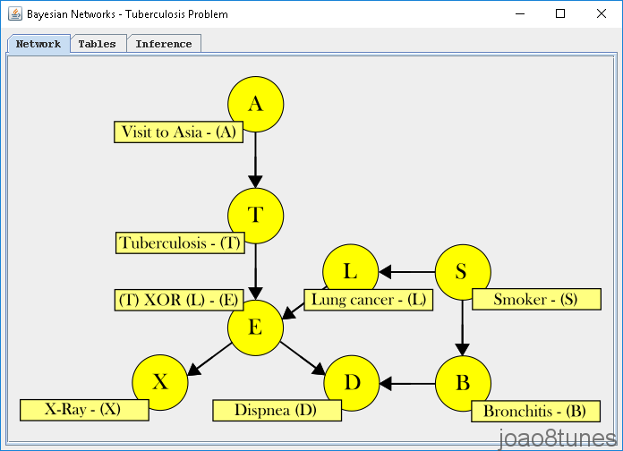 BayesianNetworks network