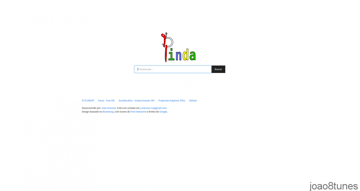 pinda interface
